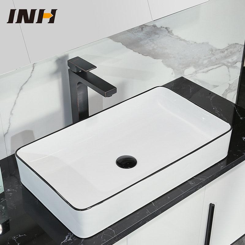 Chậu rửa lavabo thiết kế hiện đại ấn tượng 2006D
