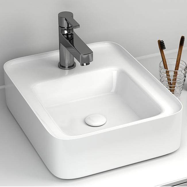 Chậu rửa lavabo thiết kế hiện đại ấn tượng 6001E
