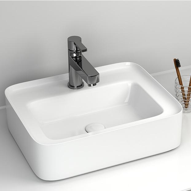 Chậu rửa lavabo thiết kế hiện đại ấn tượng 6001D