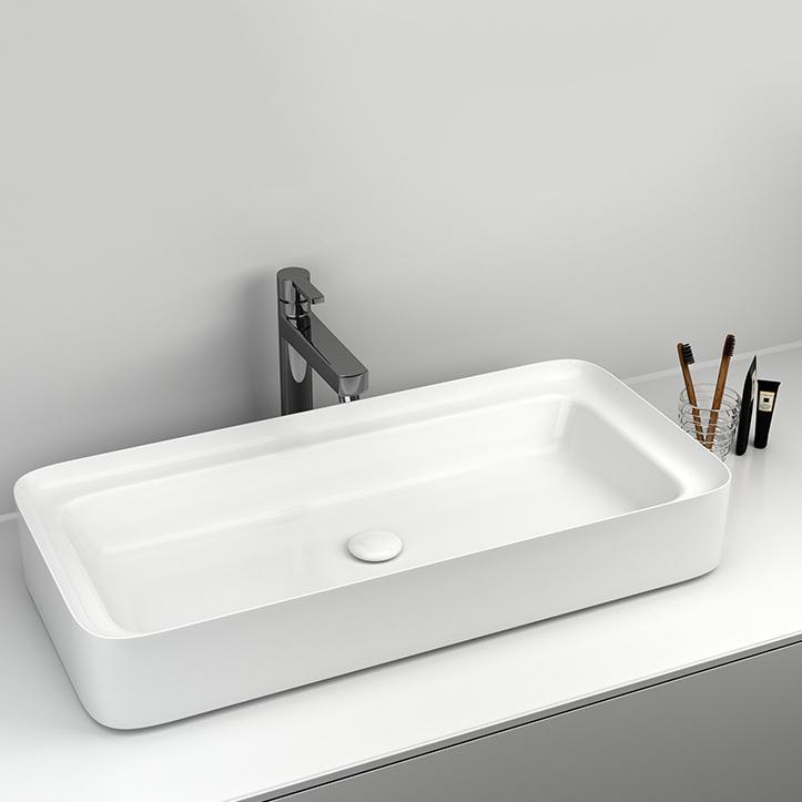 Chậu rửa lavabo thiết kế hiện đại ấn tượng 6001B