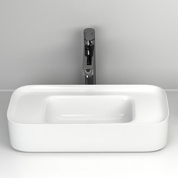 Chậu rửa lavabo thiết kế hiện đại ấn tượng 6001C