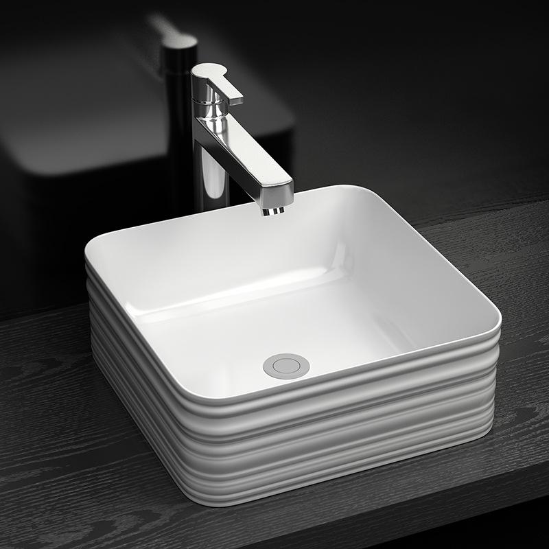 Chậu rửa lavabo thiết kế hiện đại ấn tượng YF6002B