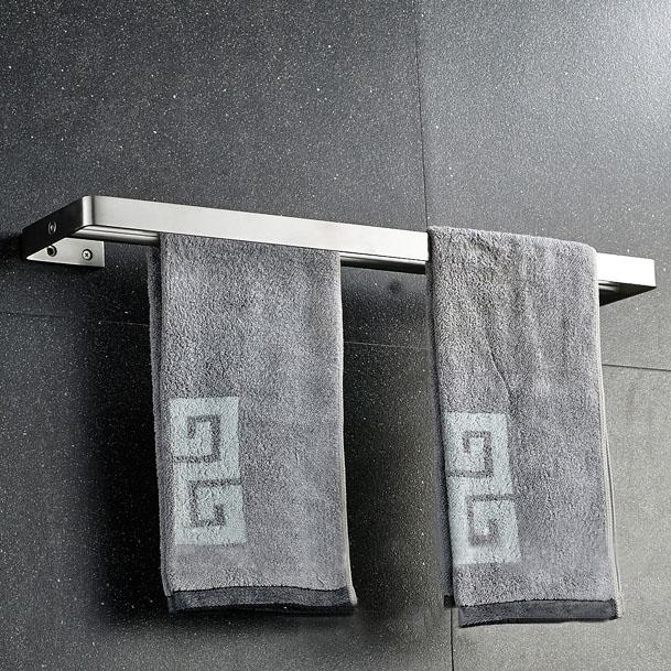 Giá treo khăn inox304 cao cấp vô cùng tiện lợi cho phòng tắm 8148