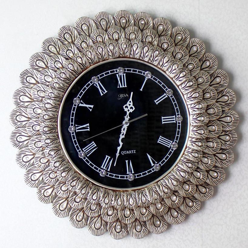 Đồng hồ treo tường đuôi công đậm chất Hoàng Gia BS6803