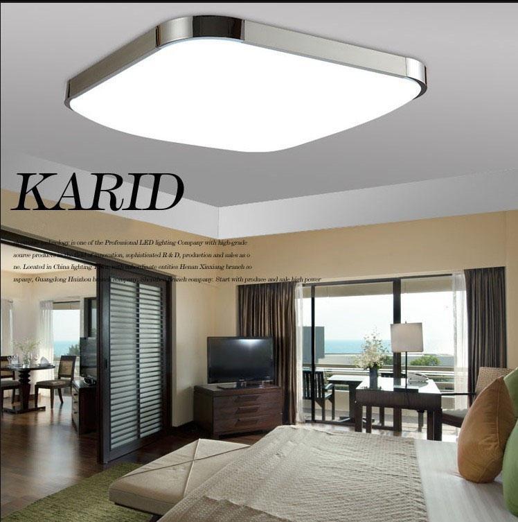 Đèn LED ốp trần cho không gian hiện đại thêm ấn tượng 2730