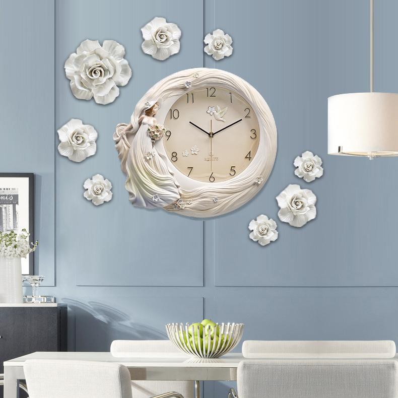 Đồng hồ thiết kế nghệ thuật cho không gian thêm ấn tượng ZB0003A