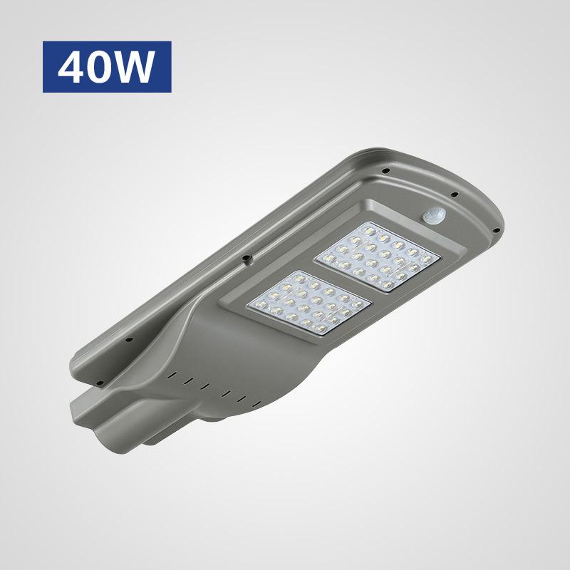 Đèn LED chiếu sáng ngoài trời cảm ứng hồng ngoại thân nhiệt hiện đại HSLD40