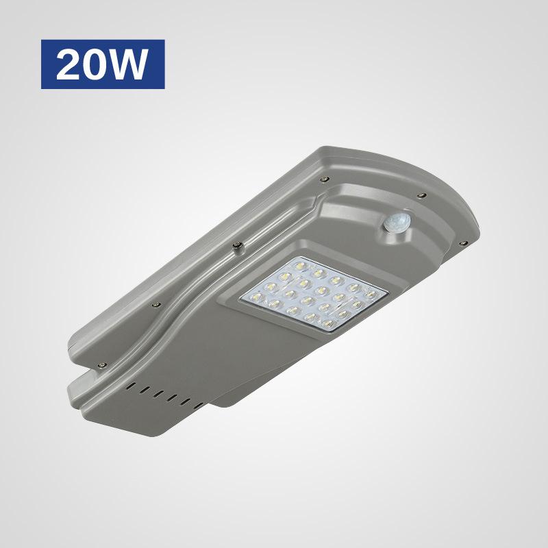 Đèn LED chiếu sáng ngoài trời cảm ứng hồng ngoại thân nhiệt hiện đại HSLD20