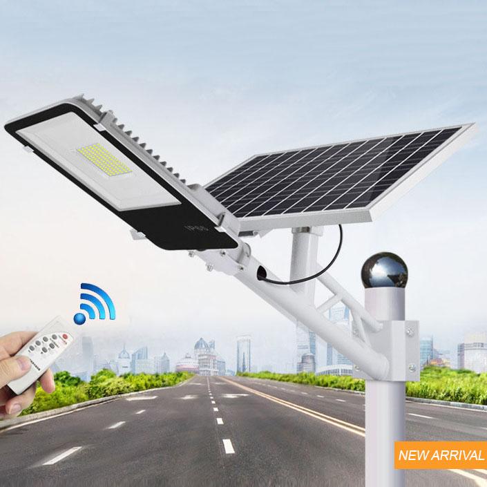Đèn LED chiếu sáng ngoài trời chống thấm nước sử dụng pin mặt trời tiết kiệm điện HS6650