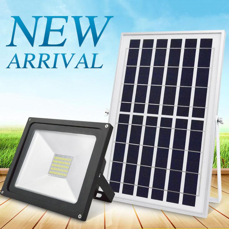 Đèn LED chiếu sáng ngoài trời chống thấm nước sử dụng pin mặt trời tiết kiệm điện HS8810