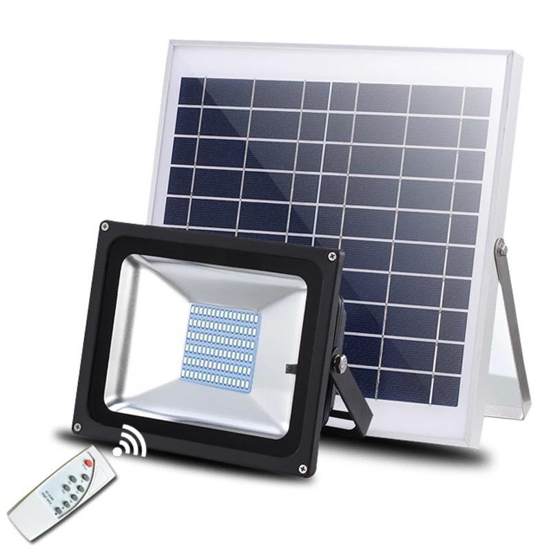 Đèn LED chiếu sáng ngoài trời chống thấm nước sử dụng pin mặt trời tiết kiệm điện XQ88100