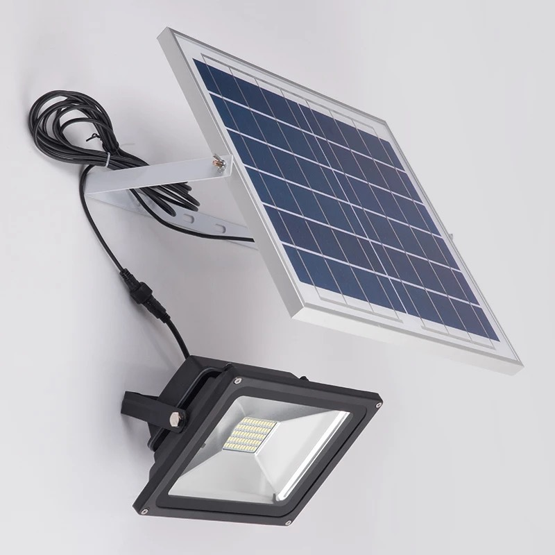 Đèn LED chiếu sáng ngoài trời chống thấm nước sử dụng pin mặt trời tiết kiệm điện XQ88120