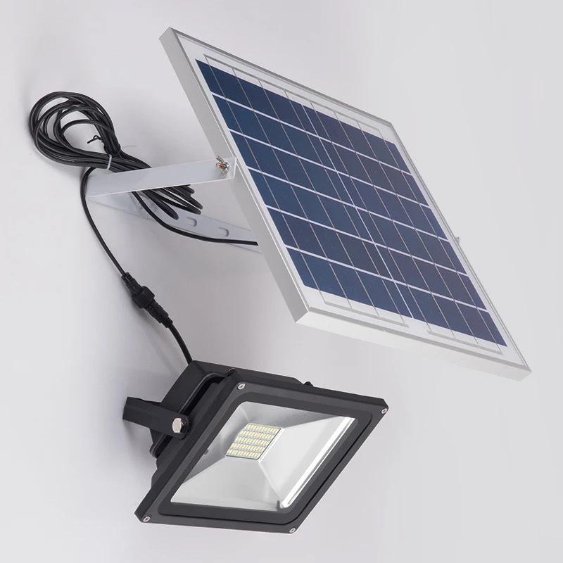 Đèn LED chiếu sáng ngoài trời chống thấm nước sử dụng pin mặt trời tiết kiệm điện XQ8810