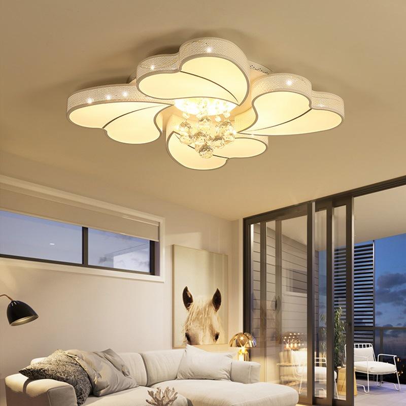 Đèn LED ốp trần phòng khách thiết kế hiện đại sáng tạo đầy ấn tượng 20180-52YL
