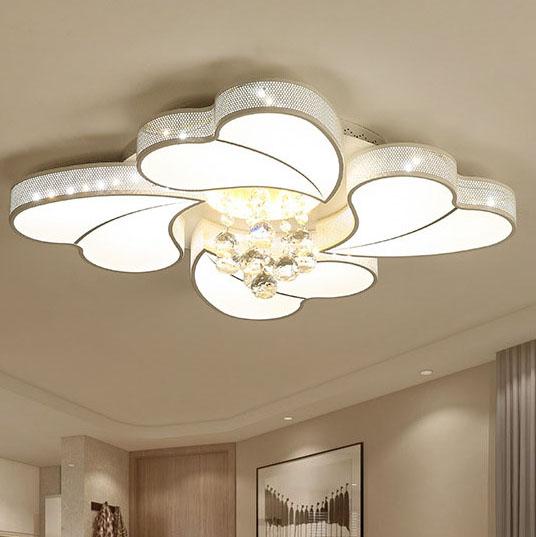 Đèn LED ốp trần phòng khách thiết kế hiện đại sáng tạo đầy ấn tượng 20180-72A điều khiển từ xa thông minh