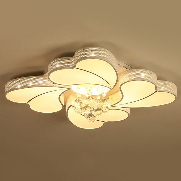 Đèn LED ốp trần phòng khách thiết kế hiện đại sáng tạo đầy ấn tượng 20180-72YL