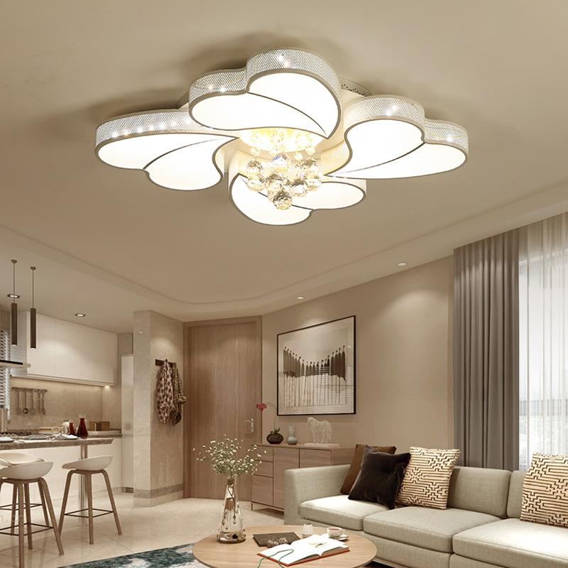 Đèn LED ốp trần phòng khách thiết kế hiện đại sáng tạo đầy ấn tượng 20180-52A điều khiển từ xa thông minh