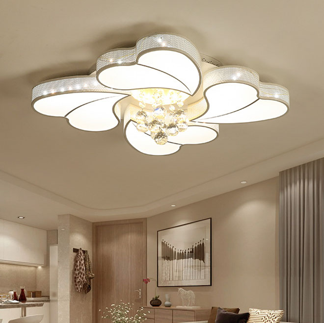Đèn LED ốp trần phòng khách thiết kế hiện đại sáng tạo đầy ấn tượng 20180-62A điều khiển từ xa thông minh
