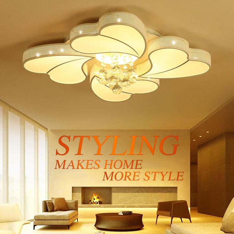 Đèn LED ốp trần phòng khách thiết kế hiện đại sáng tạo đầy ấn tượng 20180-62YL
