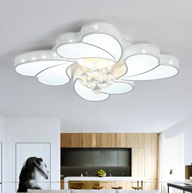 Đèn LED ốp trần phòng khách thiết kế hiện đại sáng tạo đầy ấn tượng 20180-72WH