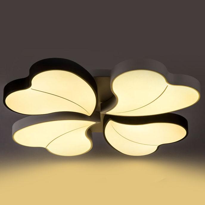 Đèn LED ốp trần phòng khách thiết kế hiện đại sáng tạo đầy ấn tượng 811-52BL