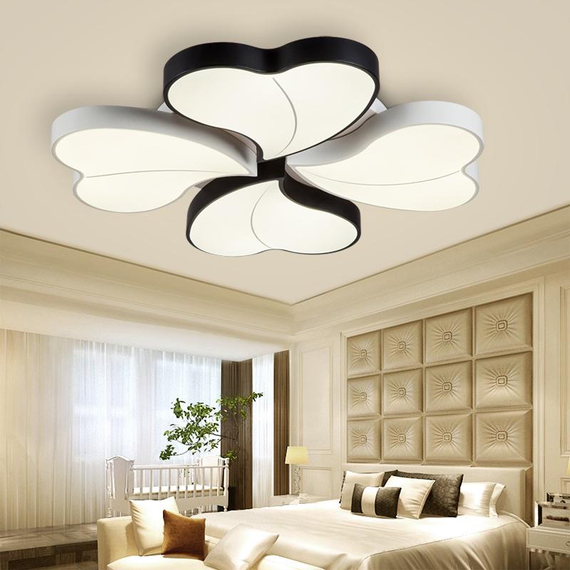 Đèn LED ốp trần phòng khách thiết kế hiện đại sáng tạo đầy ấn tượng 811-72BL