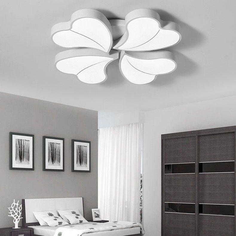 Đèn LED ốp trần phòng khách thiết kế hiện đại sáng tạo đầy ấn tượng 811-62WH