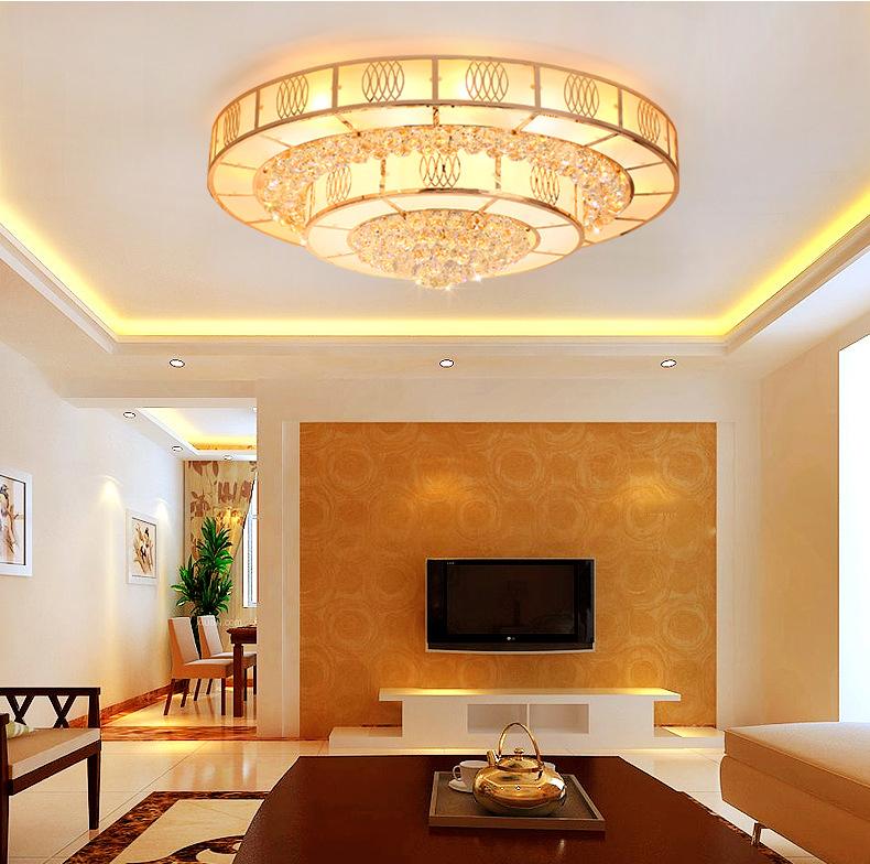 Đèn LED pha lê ốp trần sang trọng đầy ấn tượng LA 8510 - 60 size 60cm