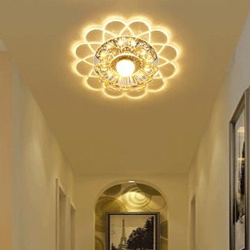 Đèn LED pha lê ốp trần sang trọng đầy ấn tượng LA866-11W