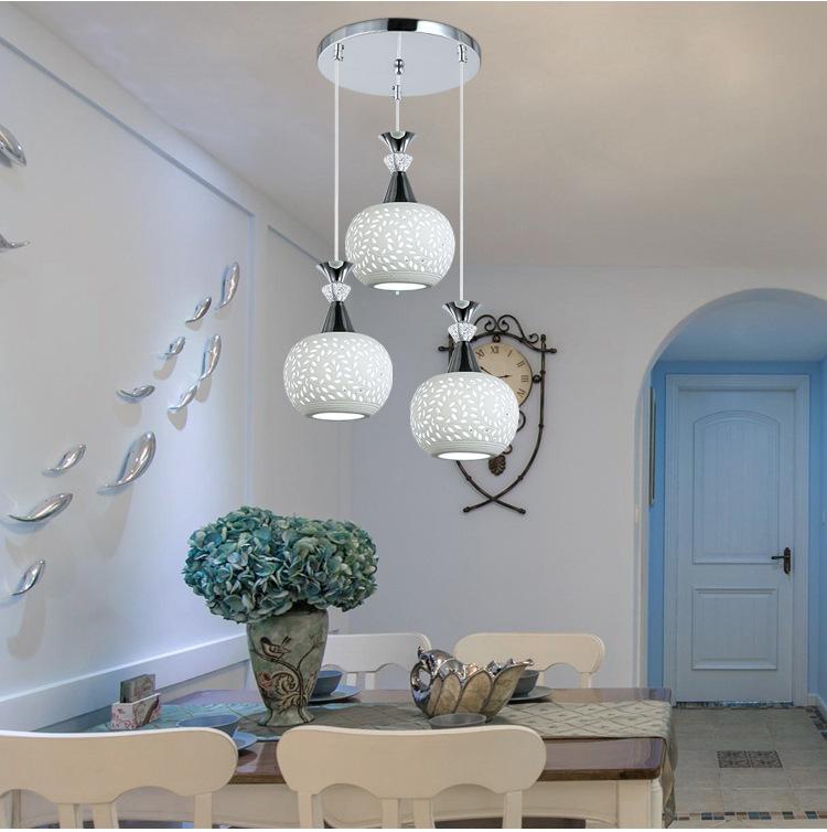 Đèn LED thả trần thiết kế độc đáo cho không gian hiện đại thêm ấn tượng LA8217 - 2 - TH3