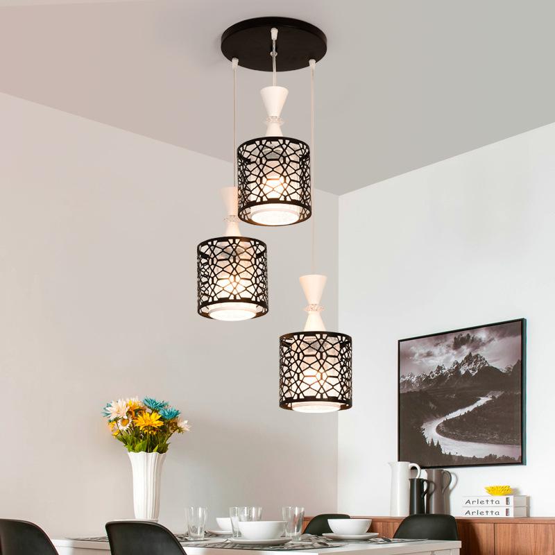 Đèn LED thả trần thiết kế độc đáo cho không gian hiện đại thêm ấn tượng LA8218 -2 - TH3
