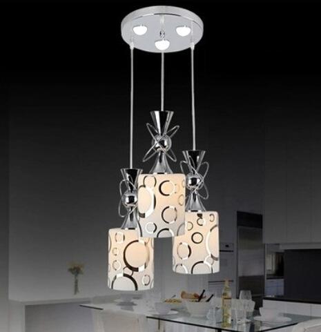 Đèn LED thả trần thiết kế độc đáo cho không gian hiện đại thêm ấn tượng LA8220