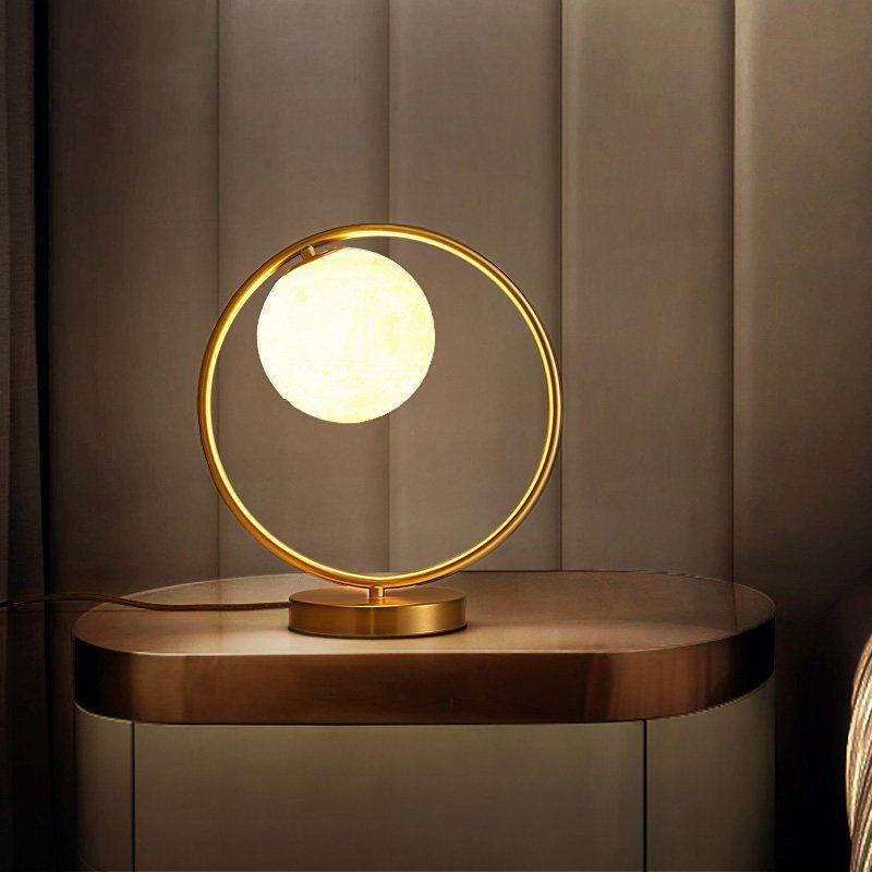 Đèn bàn hiện đại phong cách Bắc Âu ấn tượng 9140B ánh sáng vàng