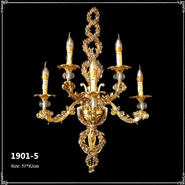 Đèn chùm pha lê nến kiểu Ý sang trọng đầy ấn tượng 1901-5