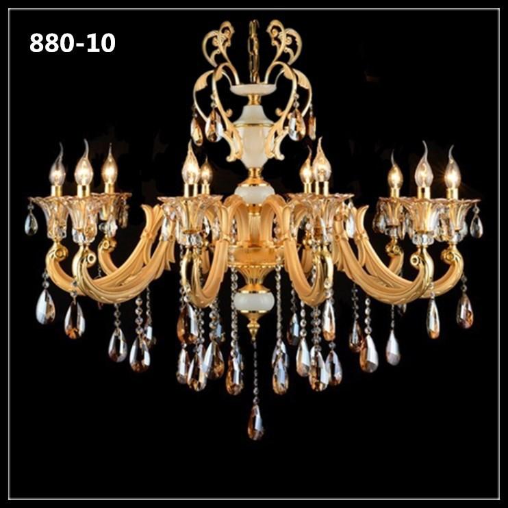 Đèn chùm pha lê nến kiểu Ý sang trọng đầy ấn tượng 880-10