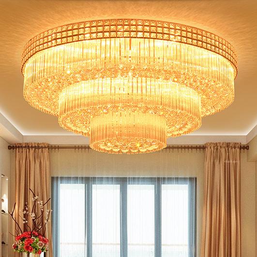 Đèn chùm pha lê phong cách Châu Âu điều khiển từ xa thông minh sang trọng đầy ấn tượng 3392-180