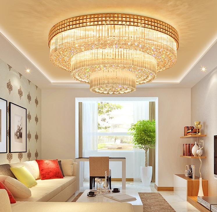 Đèn chùm pha lê phong cách Châu Âu điều khiển từ xa thông minh sang trọng đầy ấn tượng 3392-100