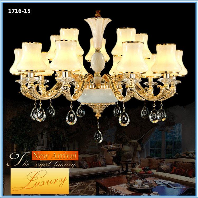 Đèn chùm pha lê phong cách Châu Âu sang trọng đầy ấn tượng 1716-15