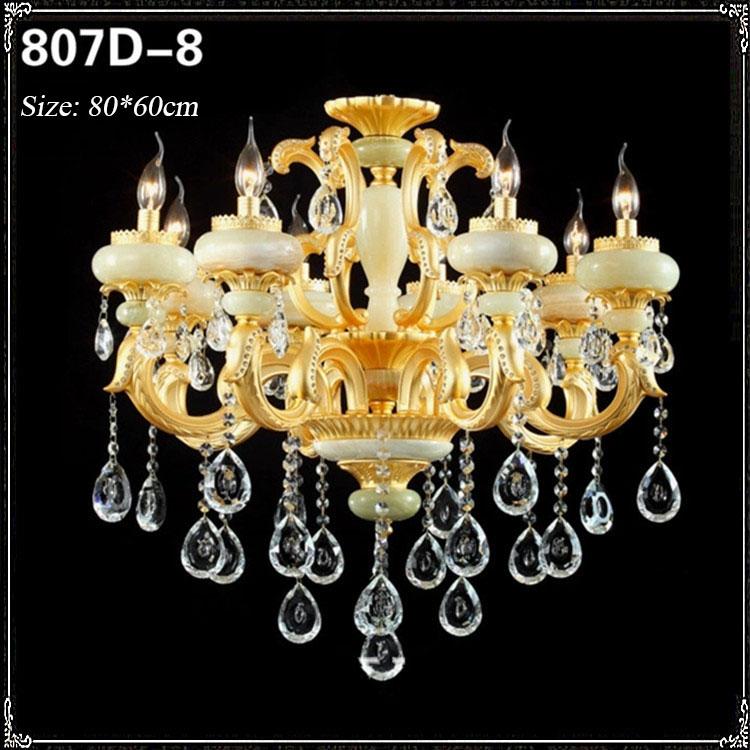 Đèn chùm pha lê phong cách Châu Âu sang trọng đầy ấn tượng 807D-8