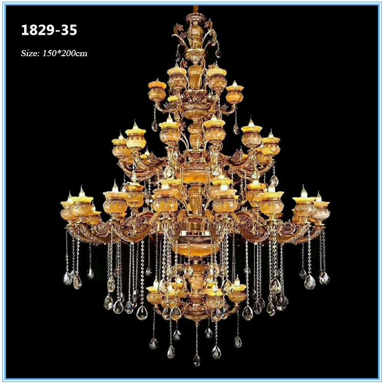 Đèn chùm pha lê phong cách Châu Âu sang trọng đầy ấn tượng 1829-35