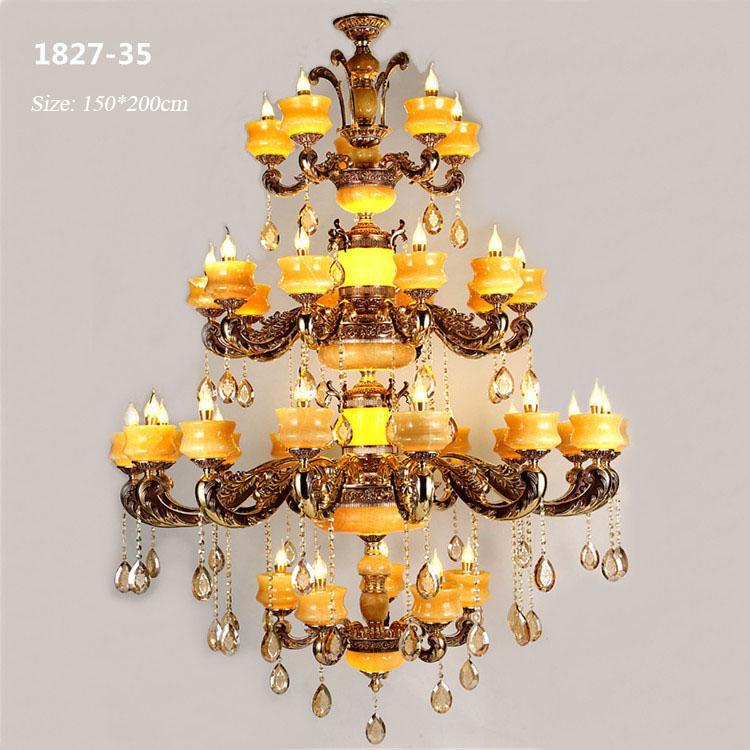 Đèn chùm pha lê phong cách Châu Âu sang trọng đầy ấn tượng 1827-35