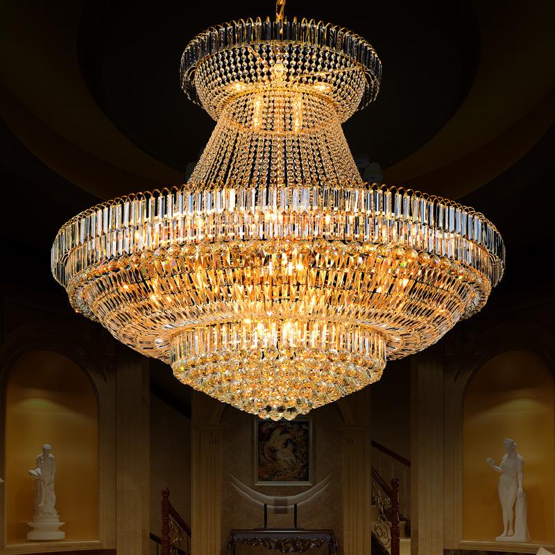 Đèn chùm pha lê phong cách Châu Âu sang trọng đầy ấn tượng 91016-140