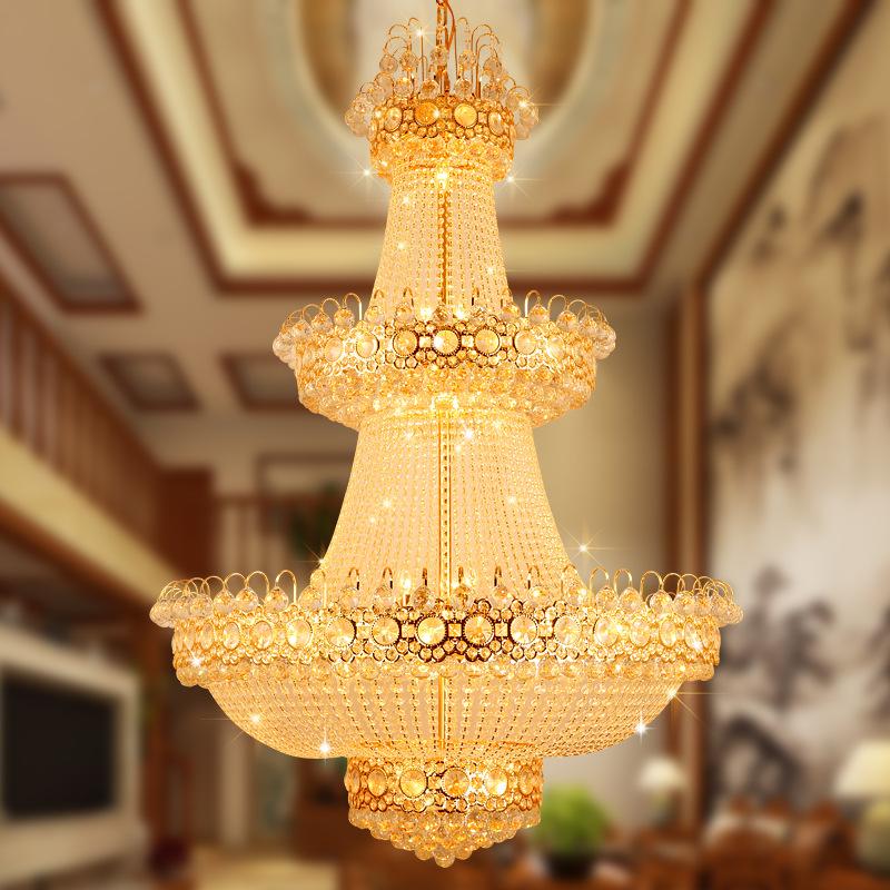 Đèn chùm pha lê phong cách Châu Âu sang trọng đầy ấn tượng 91425 size 80x120cm
