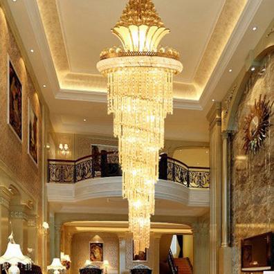 Đèn chùm pha lê phong cách Châu Âu sang trọng đầy ấn tượng 91440 size 210*70cm