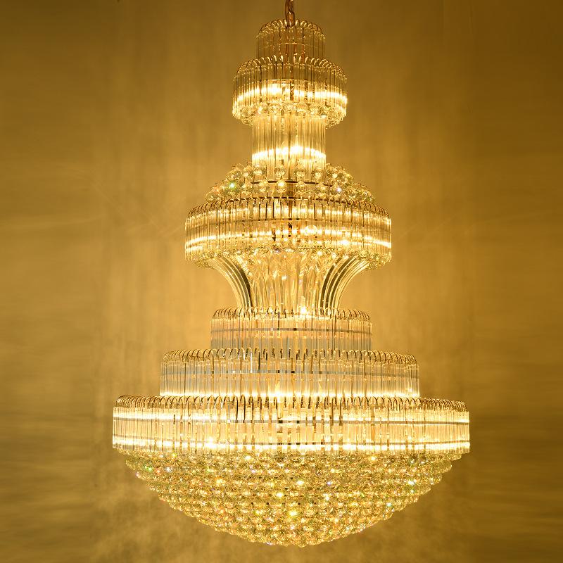 Đèn chùm pha lê phong cách Châu Âu sang trọng đầy ấn tượng 91447-200