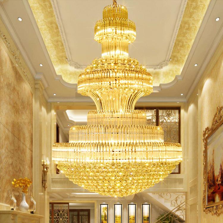 Đèn chùm pha lê phong cách Châu Âu sang trọng đầy ấn tượng 91447-120