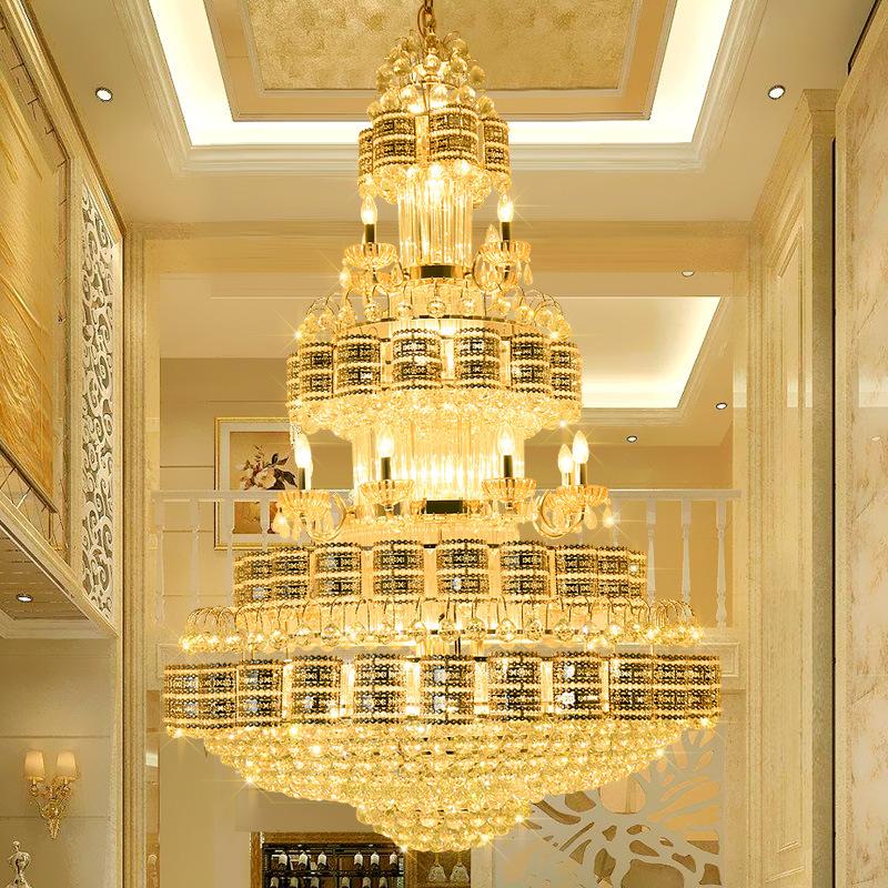 Đèn chùm pha lê phong cách Châu Âu sang trọng đầy ấn tượng 91450-100
