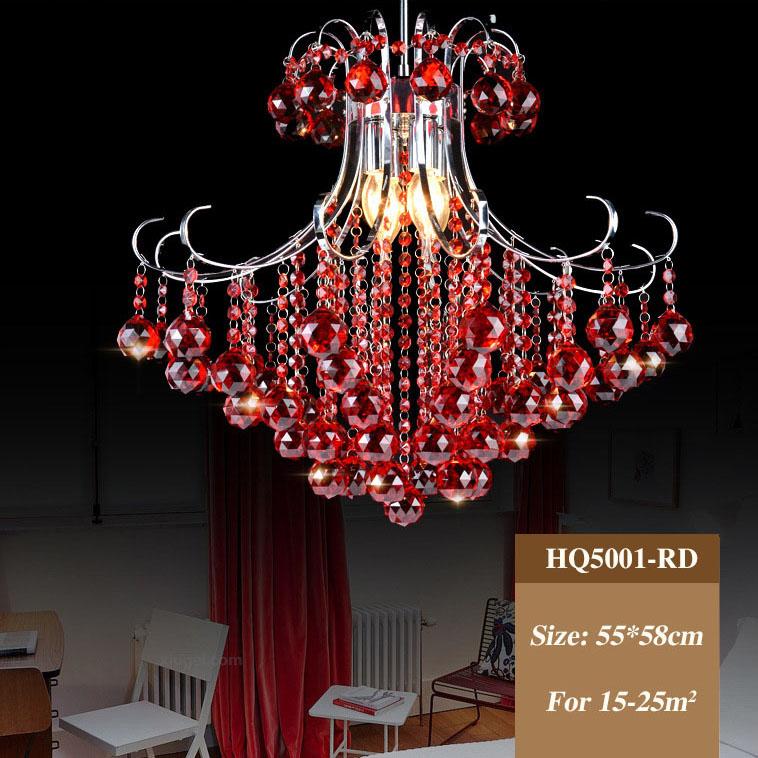 Đèn chùm pha lê phong cách Châu Âu sang trọng với sắc xanh tươi mới đầy ấn tượng HQ5001-55RD