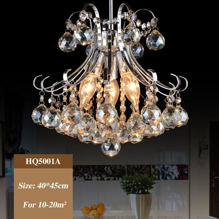 Đèn chùm pha lê phong cách Châu Âu sang trọng với sắc xanh tươi mới đầy ấn tượng HQ5001A-40