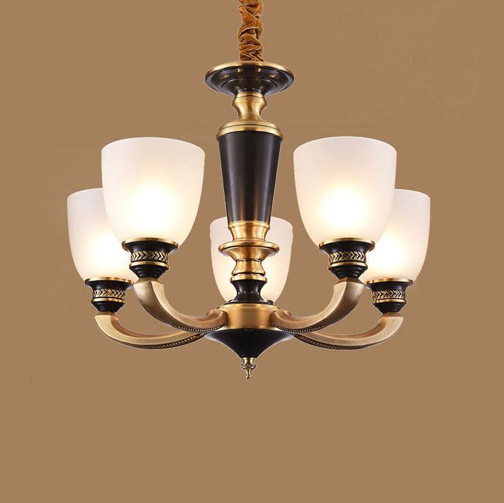 Đèn chùm phong cách Châu Âu sang trọng đầy ấn tượng HQ5007-5